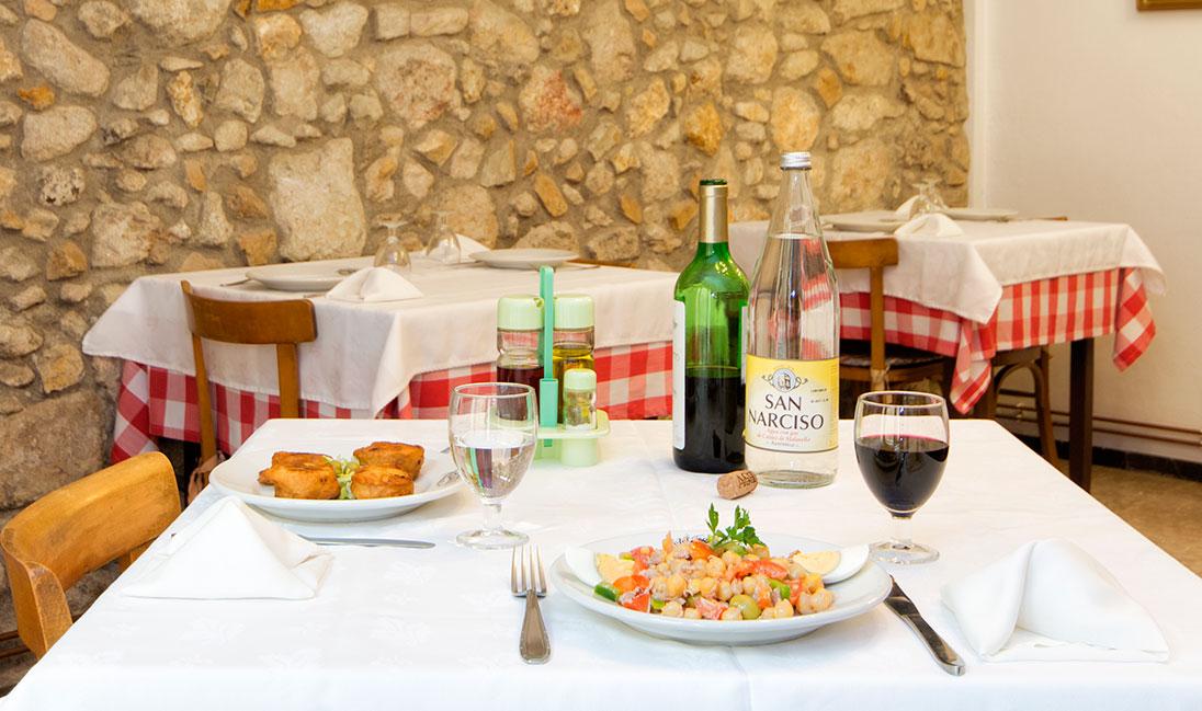 restaurante menu casero