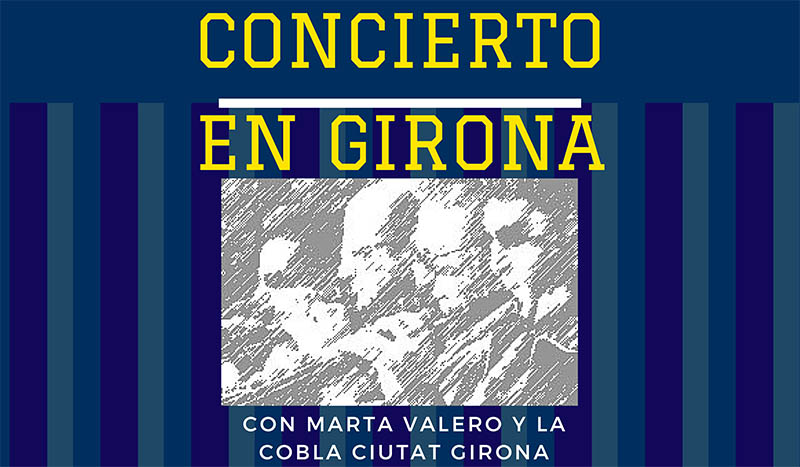 concierto cobla ciutat Girona- Hostal Fabrellas